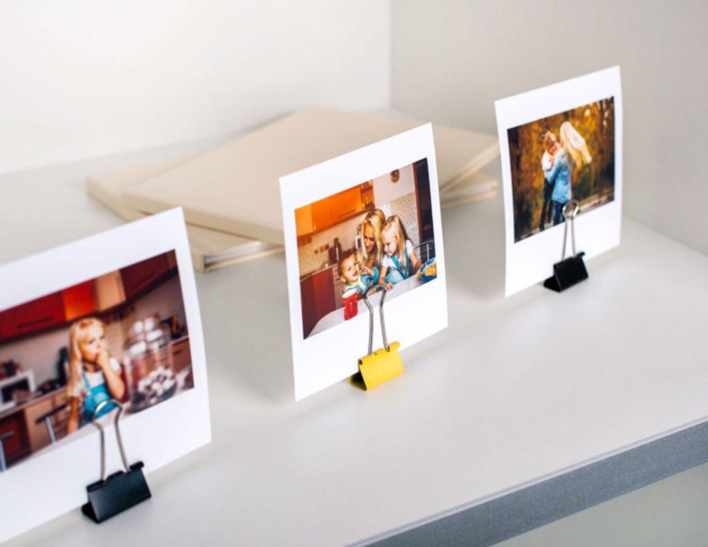 Печать формата поларойд и инстаграм