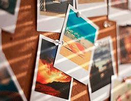 Печать фотографий в формате поларойд премиум во Владимире