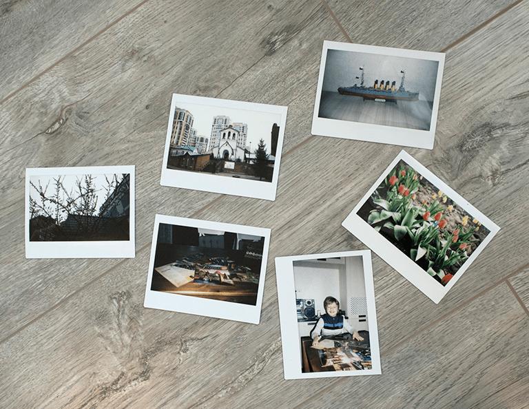 Печать фотографий в формате Instax Wide во Владимире