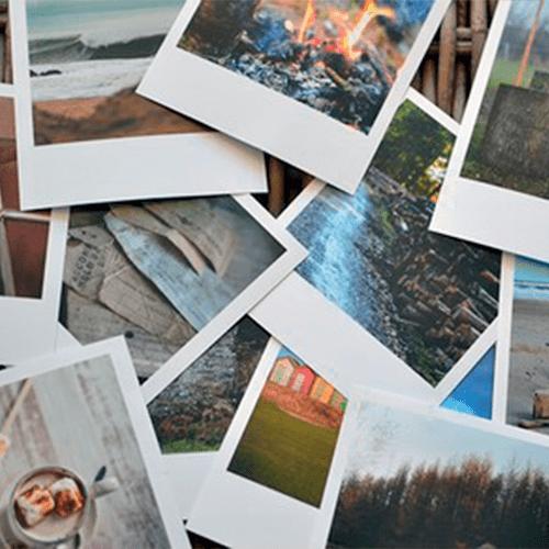 Печать фотографий в формате Polaroid | Glossy