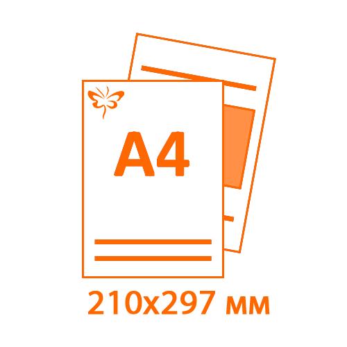 Печать наклеек 20х30 (А4) во Владимире
