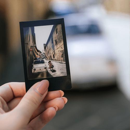 Печать фотографий в формате Instax Mini (Black)