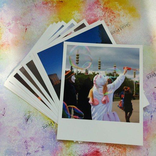 Печать фотографий в формате Polaroid   Standart