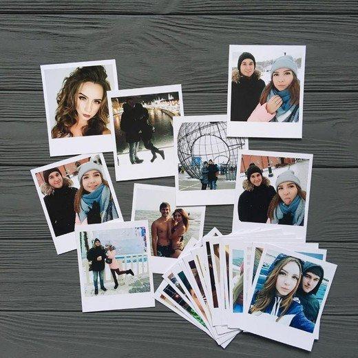 Печать фотографий в формате Polaroid | Standart
