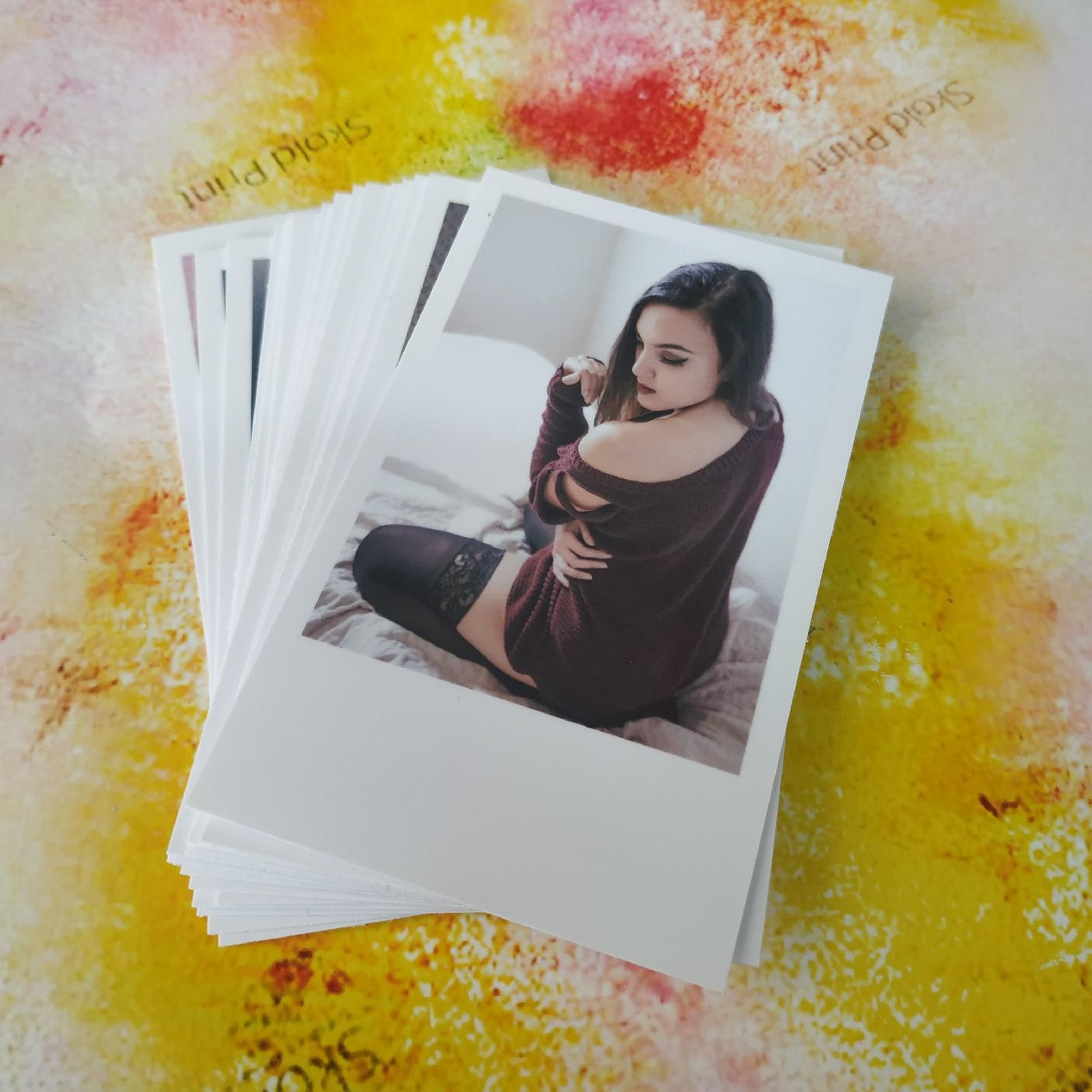 Печать фото в формате интакс мини